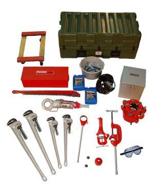 "Pipefitter's Tool Kit 2-1/4"" to 4"" Dia. Pipe"