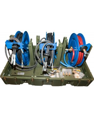 Hose Reel Module for MPU 2032E (2 Hydraulic, 1 Pneumatic)