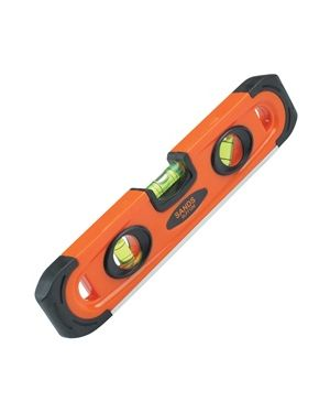 Kraft Tool Magnetic Plastic Torpedo Level