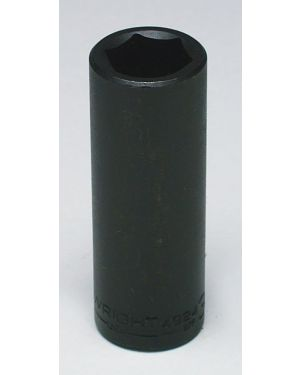 "Wright Tool 9/16"" - 1/2"" Dr. 6 Pt. Deep Impact Socket"