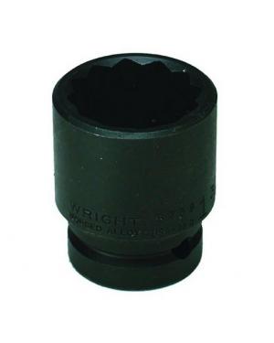 "Wright 1"" - 3/4"" Dr. 12 Pt. Standard Impact Socket"