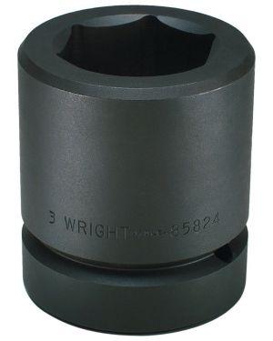 85MM 2-1/2-Inch Drive 6 Point Standard Metric Impact Socket