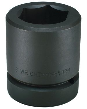 "95MM 2-1/2"" Drive 6 Point Standard Metric Impact Socket"