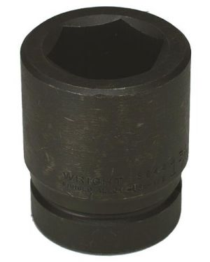 Wright Tool 8844 1-3/8-Inch with 1-Inch Drive 6 Point Standard Impact Socket