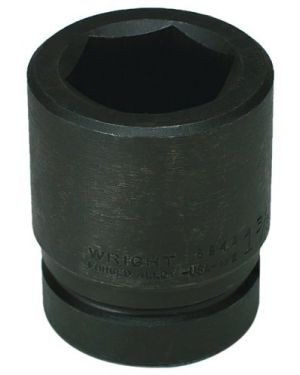 Wright Tool 8864 2-Inch with 1-Inch Drive 6 Point Standard Impact Socket