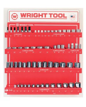"""1/2"""" Drive 6-Point Standard and Deep Sockets and Hex Bits D947B"""